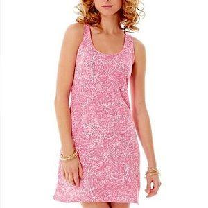 Lilly Pulitzer Cordon Get Crackin Hotty Pink Dress